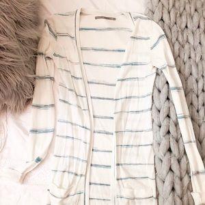 Nordstrom Striped Long Cardigan